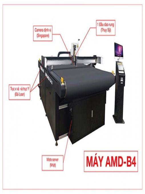 MÁY Cắt Kỹ Thuật Số AMD-B4