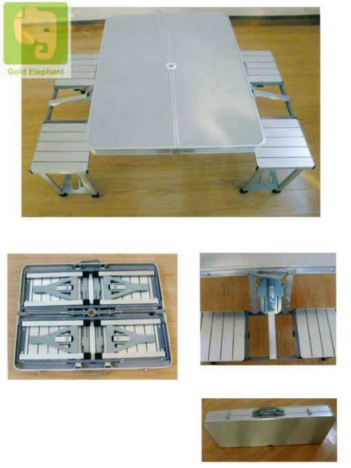 Bộ bàn ghế di động bằng nhôm